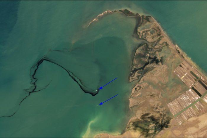 Imágenes satelitales comprueban que derrame en el Golfete de Falcón tiene al menos un mes y no 3 días como dice PDVSA