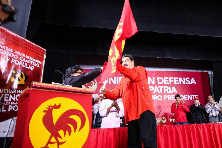 Maduro versus el PArtido COmunista de Venezuela - Primer Informe