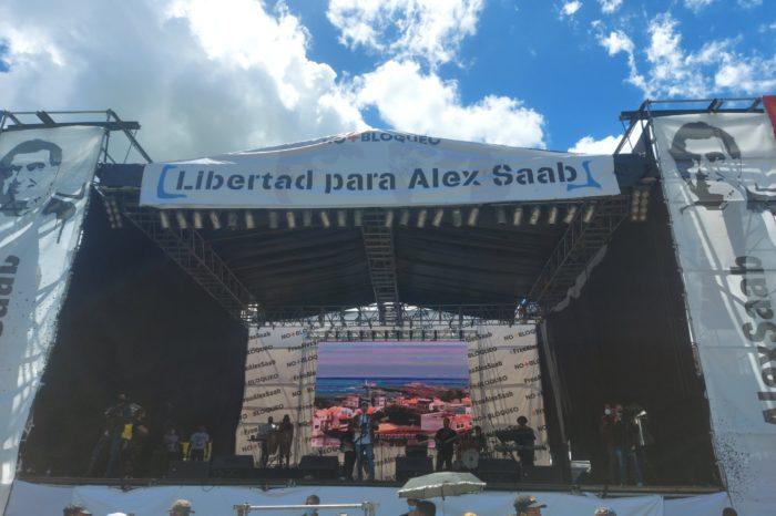 Quién está detrás del pandémico concierto por Álex Saab en Caracas