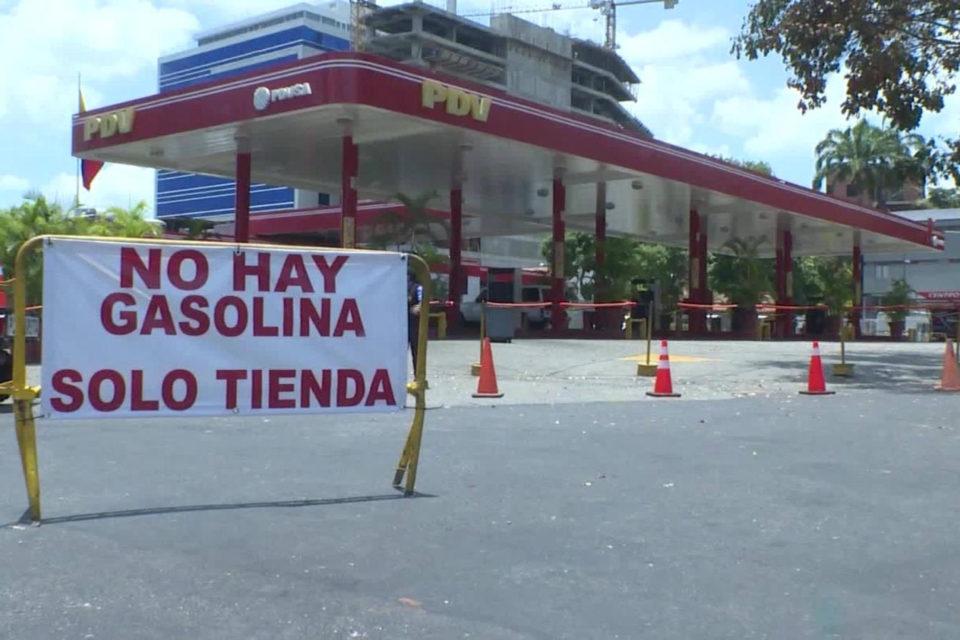 escases de gasolina en Venezuela