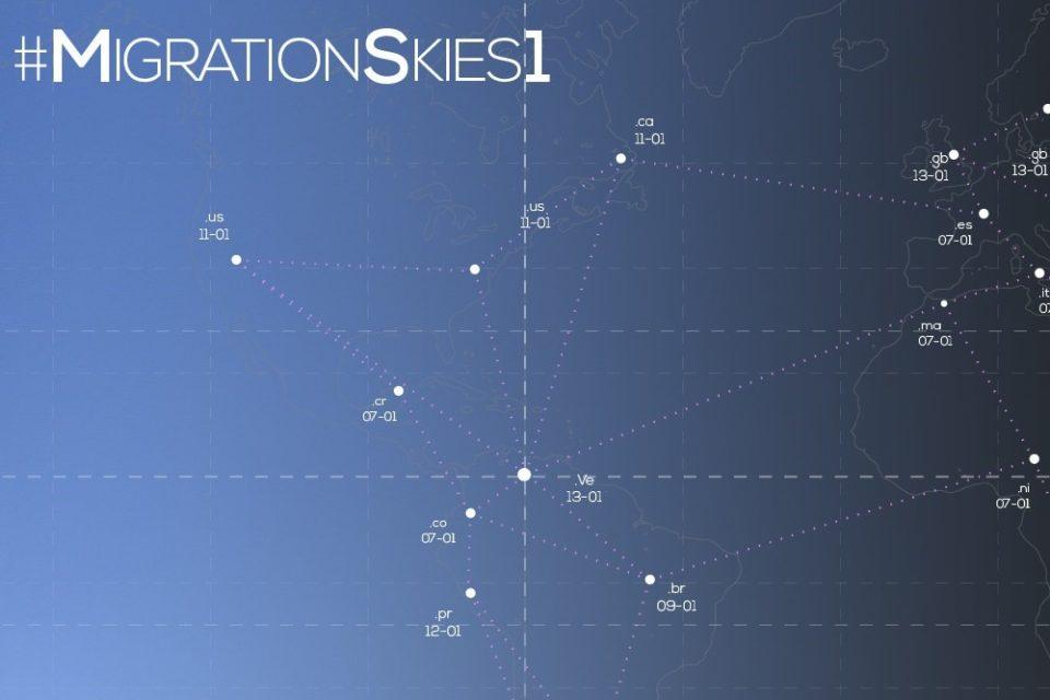 el proyecto migration skies - primer informe