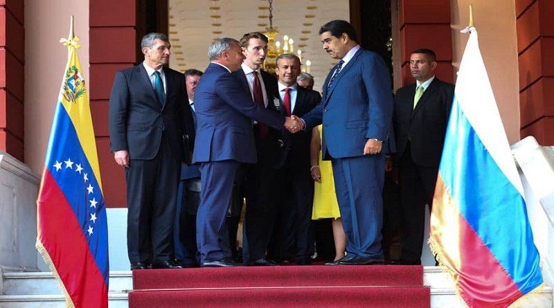 Putín envió representante a Caracas - Primer Informe
