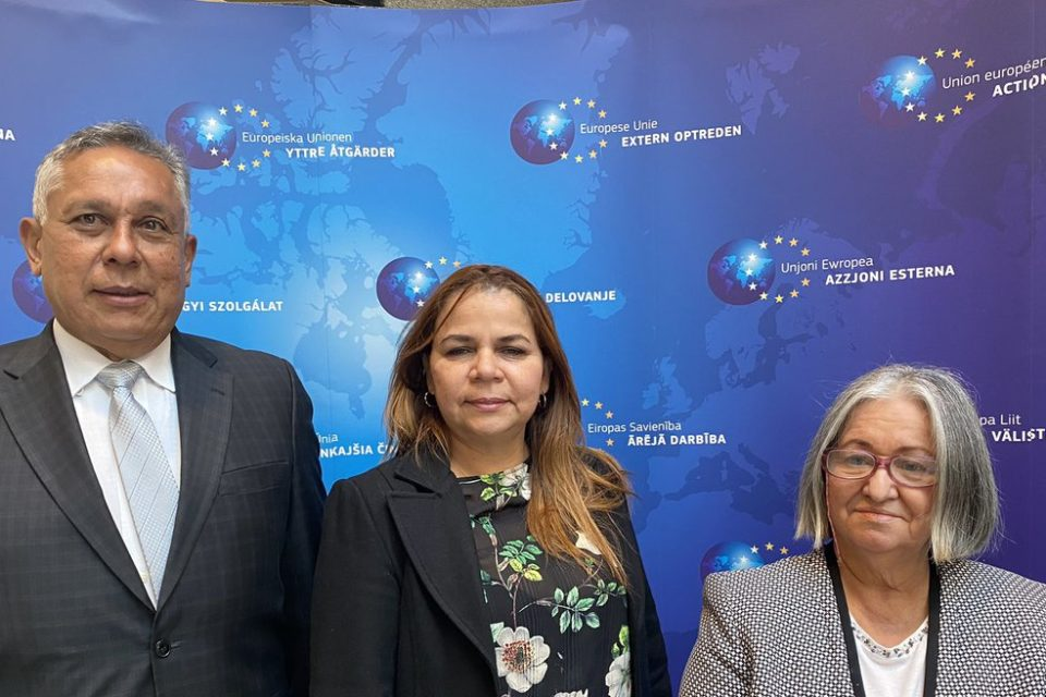 La apretada agenda diplomática de Iris Varela en Europa