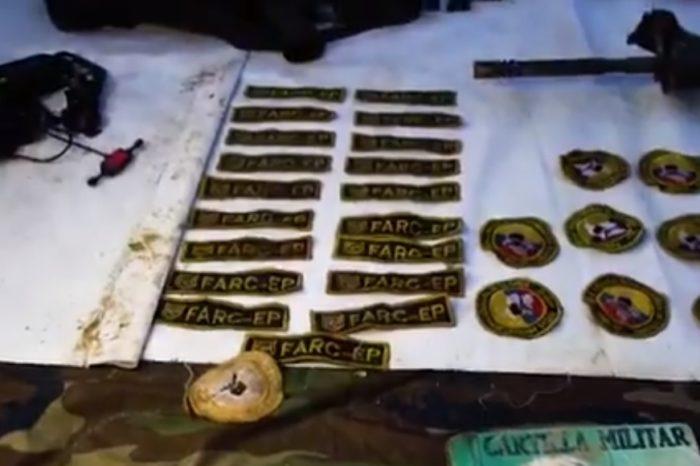 Con un video los militares de Maduro admitieron que combaten contra las FARC en Apure