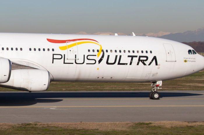 La línea aérea Plus Ultra