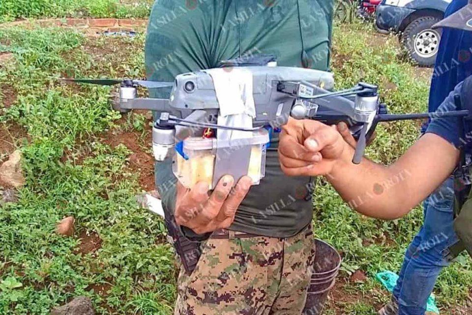 asi-fue-el-primer-ataque-con-drones-del-narcotrafico-en-mexico - primer informe