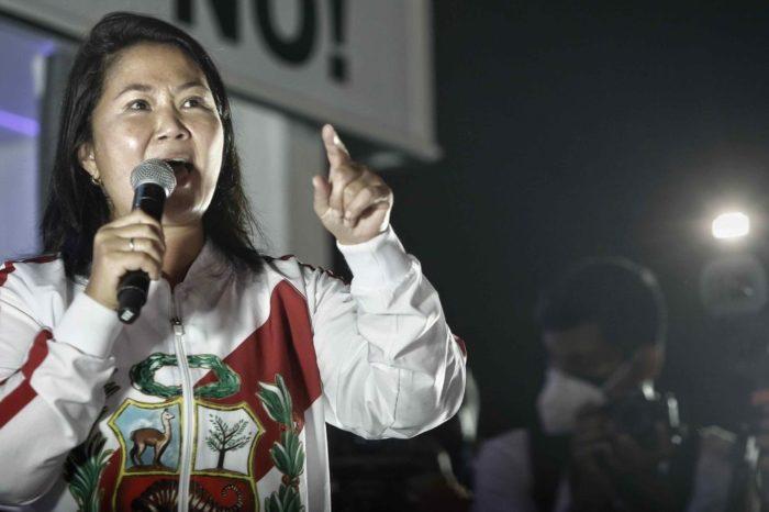 Militares peruanos apoyan cuestionamiento de Keiko Fujimori a conteo de votos en Perú