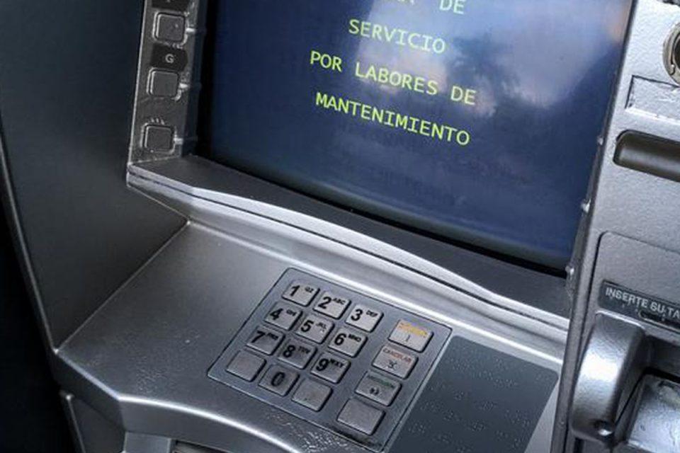 Bancos en Venezuela se quedan sin cajeros automáticos