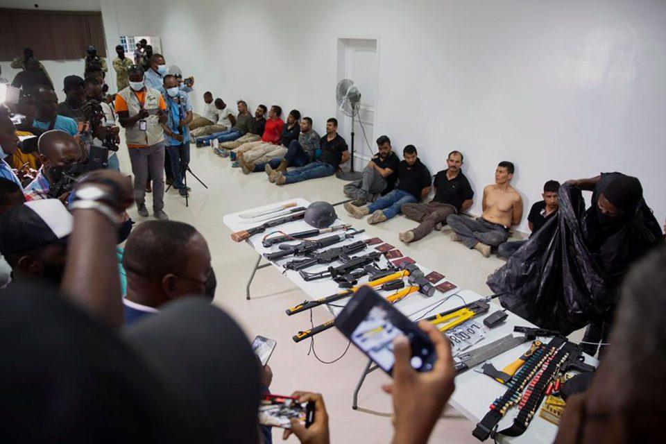 Asesinos del presidente de Haití eran militares colombianoss