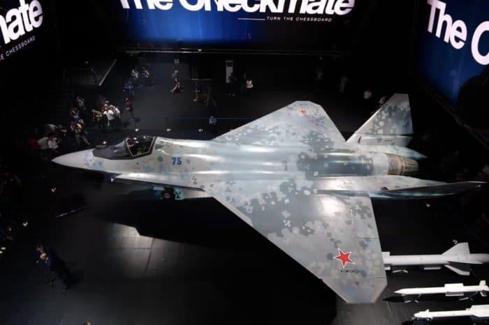 El nuevo avión ruso que quiere competir en el mundo con el F-35 de EEUU