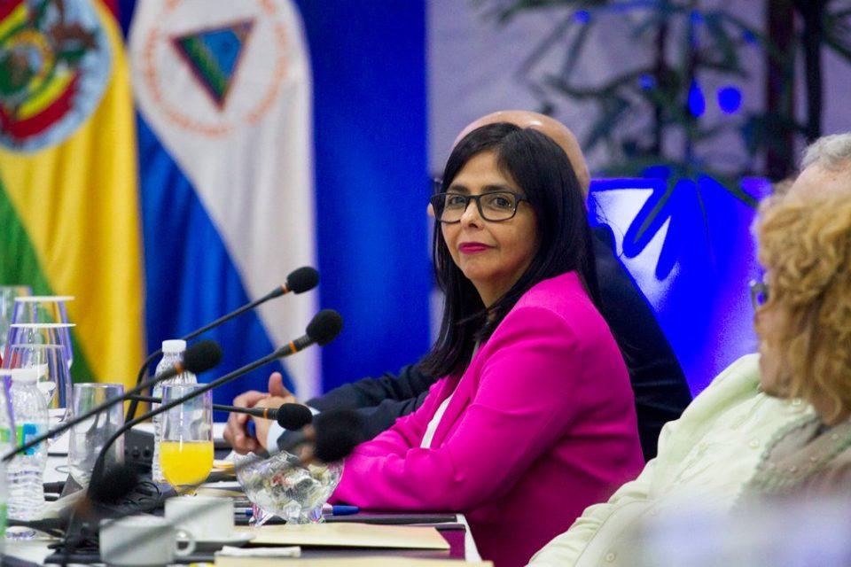 Delcy Rodríguez es la promotora de un clan libanés vinculado a los CLAP