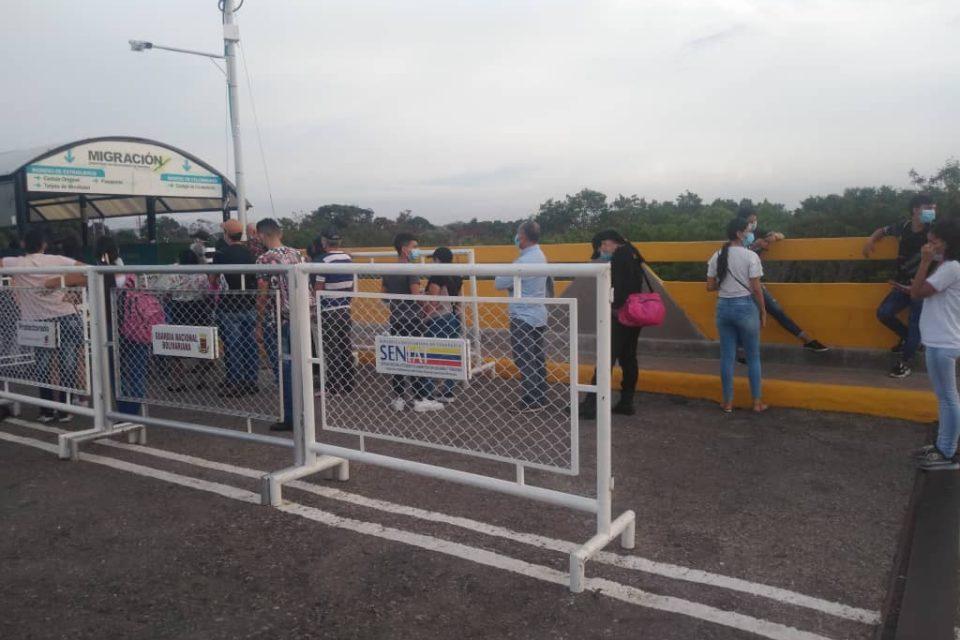 Así es la tímida apertura fronteriza entre Colombia y Venezuela