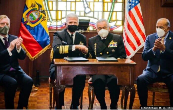 Comando Sur renueva el combate al narcotráfico en Ecuador